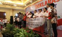 Masyarakat Gunung Putri Deklarasi Dukung Jokowi, Optimis Raih 70 Persen