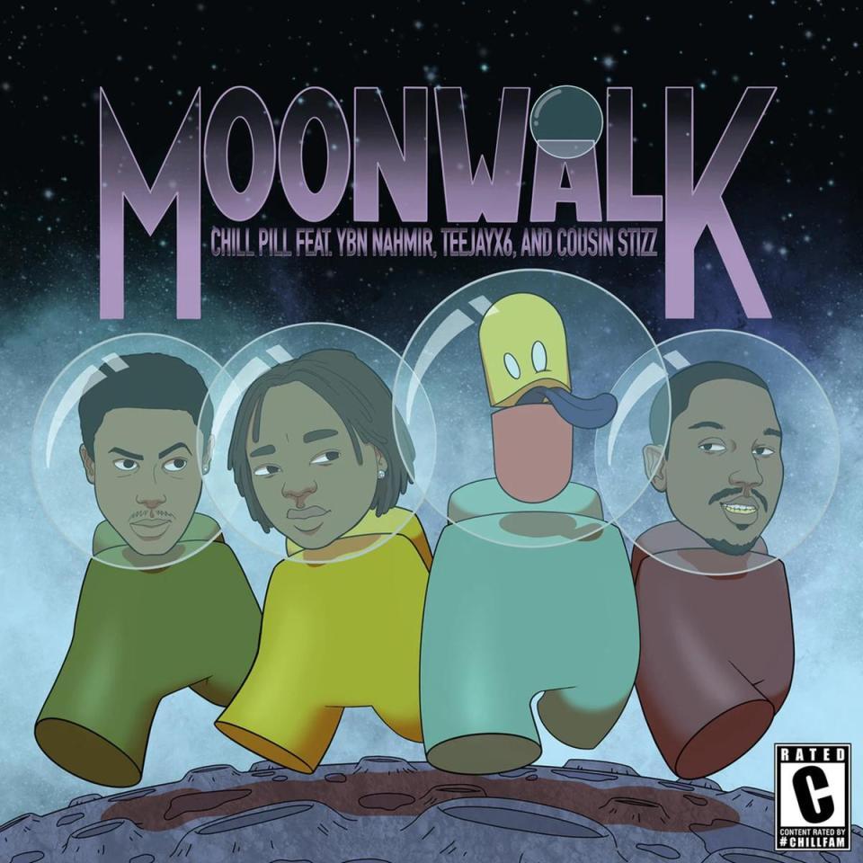 DOWNLOAD MP3: Chillpill Ft. YBN Nahmir, Teejayx6 & Cousin Stizz – Moonwalk