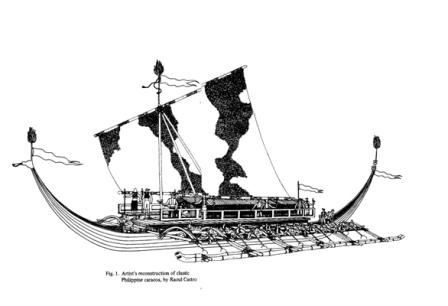 Image result for ancient boats philippines