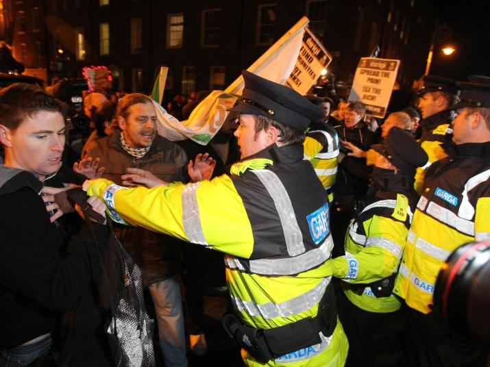 Over half of young people in Ireland 'would join a mass uprising against the government'