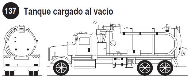 Imagen de tanque cargado al vacío.