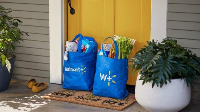 Walmart + membership program (Photo courtesy Walmart)