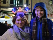 A look at the First Night Raleigh celebration in downtown Raleigh on Dec. 31, 2016.