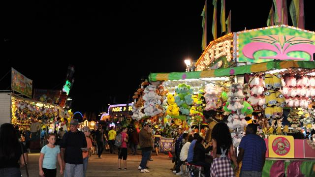 It was a beautiful night at the North Carolina State Fair in Raleigh on Tuesday, October 18, 2016.