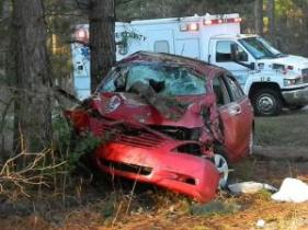 Two people were killed early Sunday morning in a crash near Vass, according to authorities.