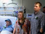Father of bride in hospital wedding dies