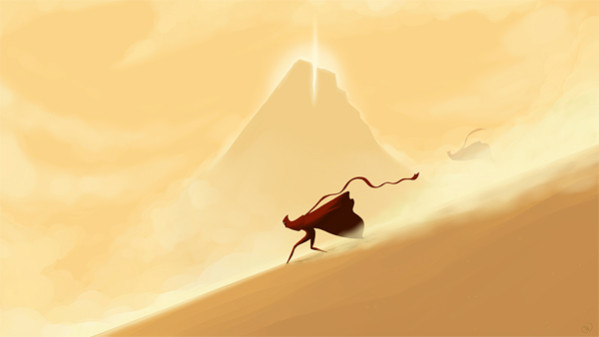 Journey, разработанный студией thatgamecompany