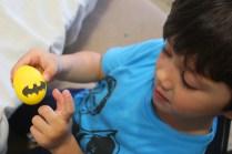 3 superheroes Easter eggs  marmite et ponpon