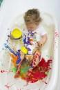 6-finger paint - sensory play|marmite et ponpon