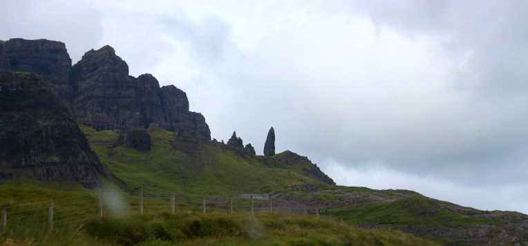 Old Man of Storr in zare