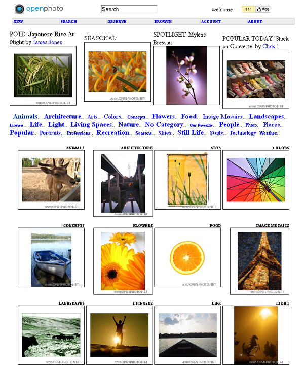 Openphoto - More Than 14K Images
