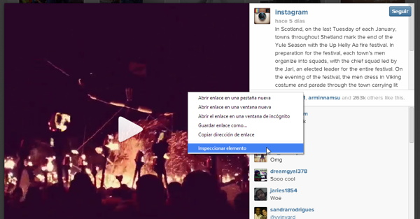 descargar instagram primer paso