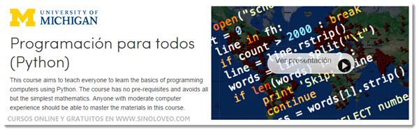 250 Cursos Universitarios, online y gratuitos que comienzan en Octubre (6/6)