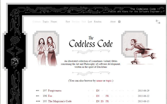the codeless code