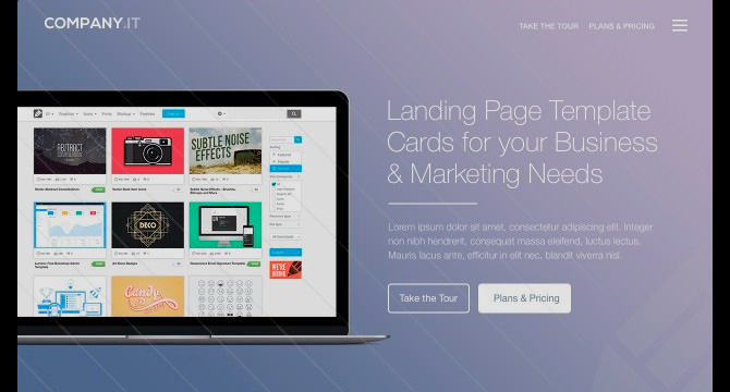 Cartas De Cabecera Para Landing Pages