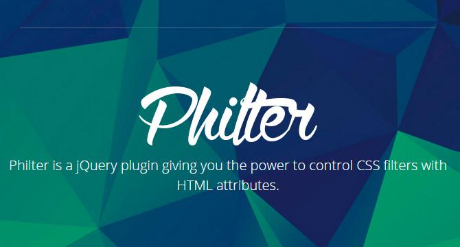 Philter: Plugin De jQuery Para Filtros CSS