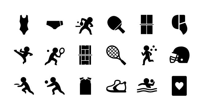 Set De Mas De 5800 Iconos De Deportes Para iPhone