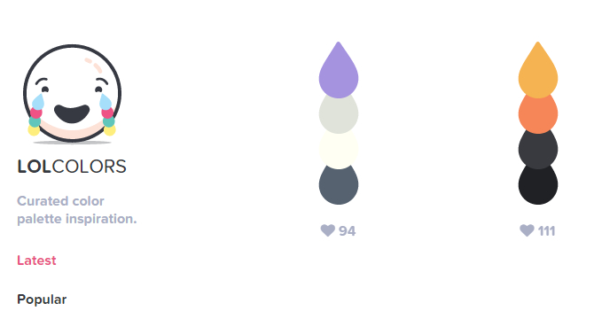 LOL Colors: Paletas De Inspiracion Curadas