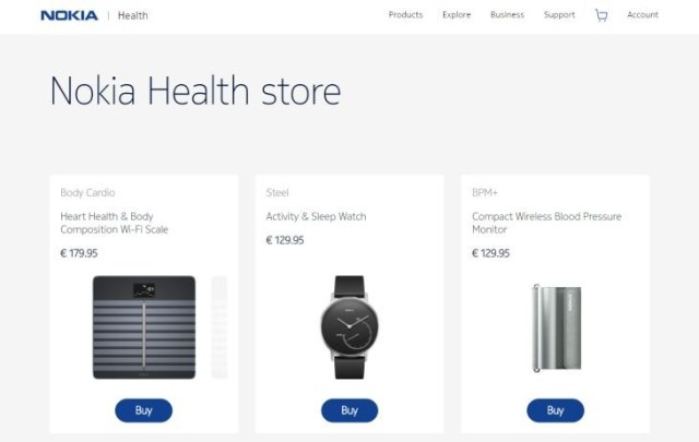 NokiaHealthStore