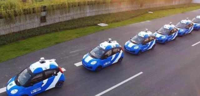 coches autónomos Baidu