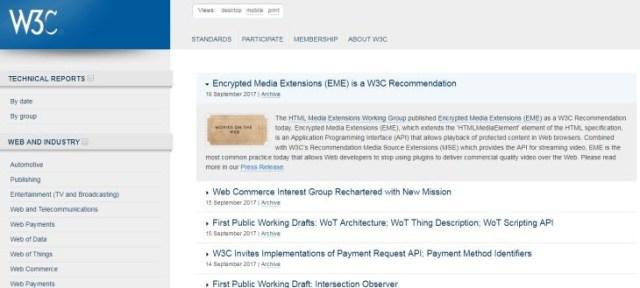 W3C-EME