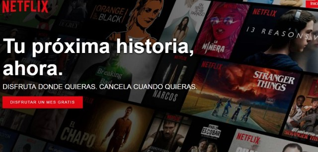Netflix ordenar series