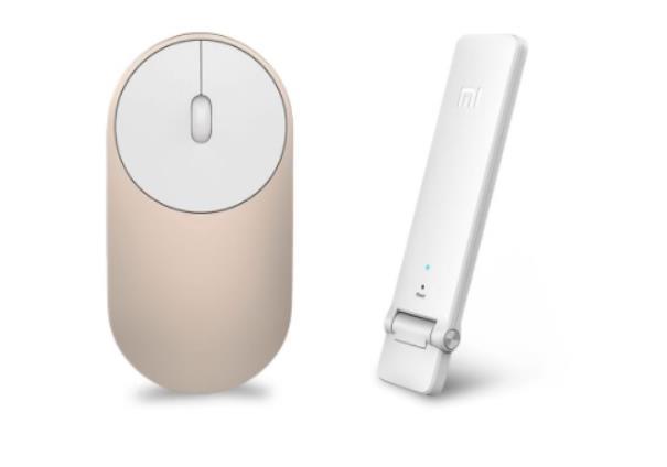 Xiaomi mouse y repetidor