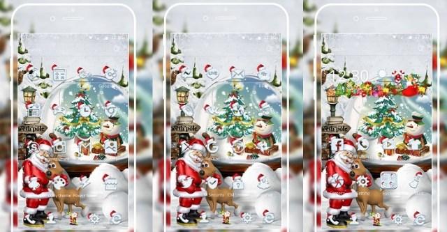 Feliz Navidad Santa tema