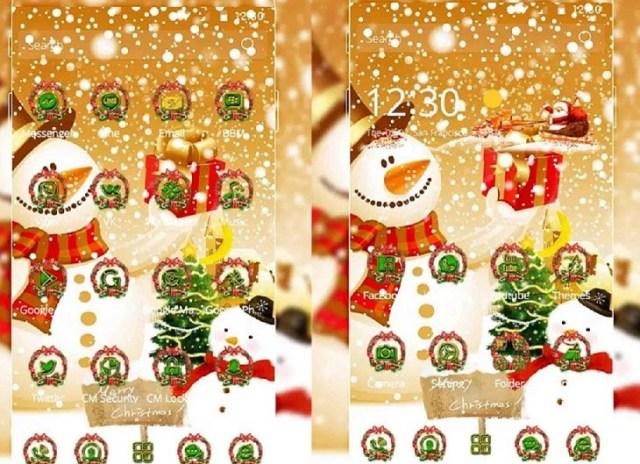 Navidad Monigote de nieve Tema