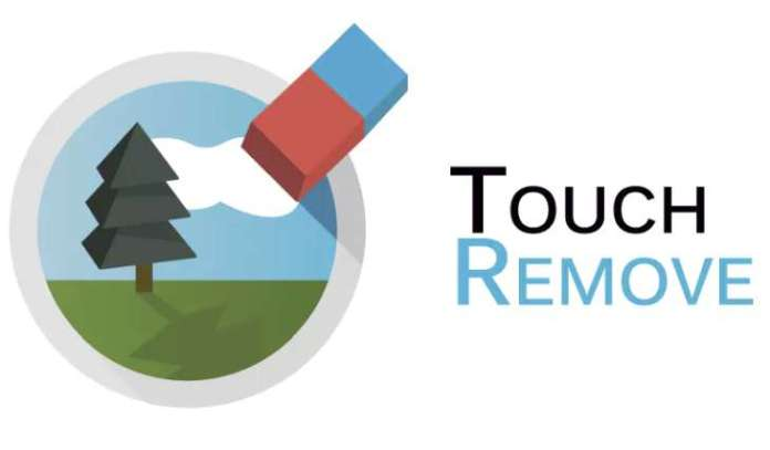 TouchRemove an app to eliminate unwanted objects in photos