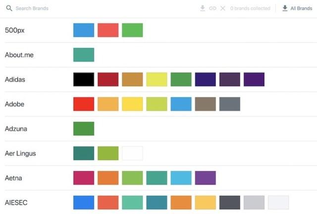 Brandcolors