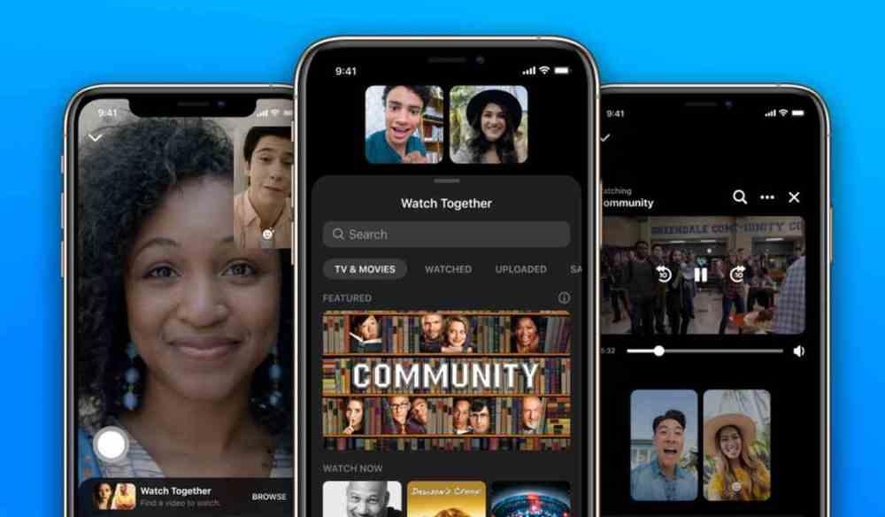 Llega Watch Together, lo nuevo de Facebook para ver vídeos con amigos en  Messenger