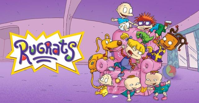 Original Rugrats logo