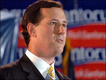 Rick Santorum, CBS News image