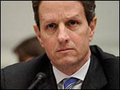Geithner, the Driver on our Road to Marxism (AP Photo: Susan Walsh)