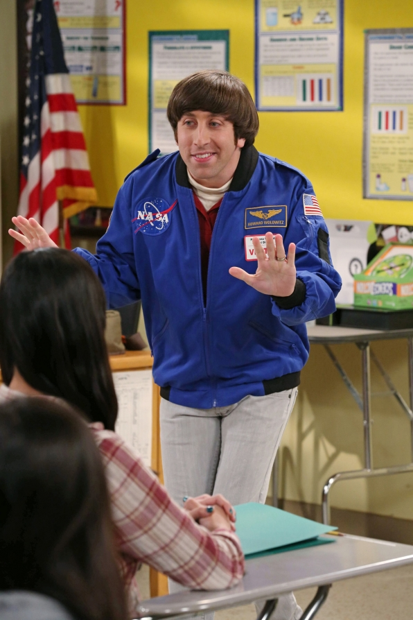 """Wolowitz tries teaching in """"The Contractual Obligation Implementation"""", Episode 18 of Season 6"""