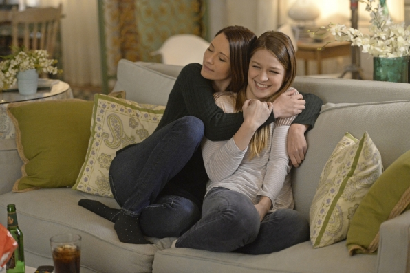 Alex and Kara share a sweet moment.