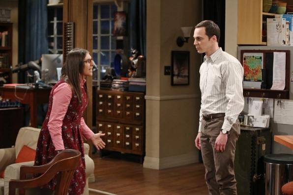 5. Amy wants to take a break from Sheldon.
