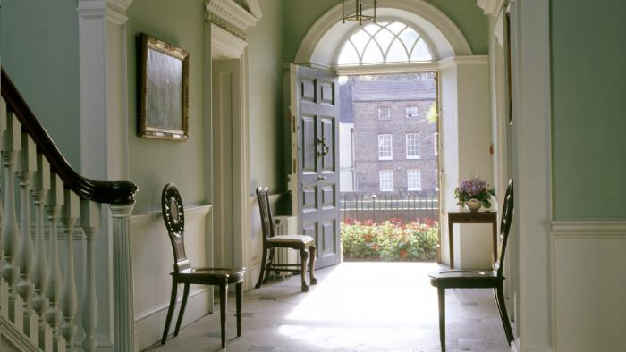 Georgian Style In Period Property   Oliver Burns Image sourced via The National Trust