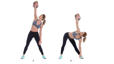 Image result for Kettlebell Windmill