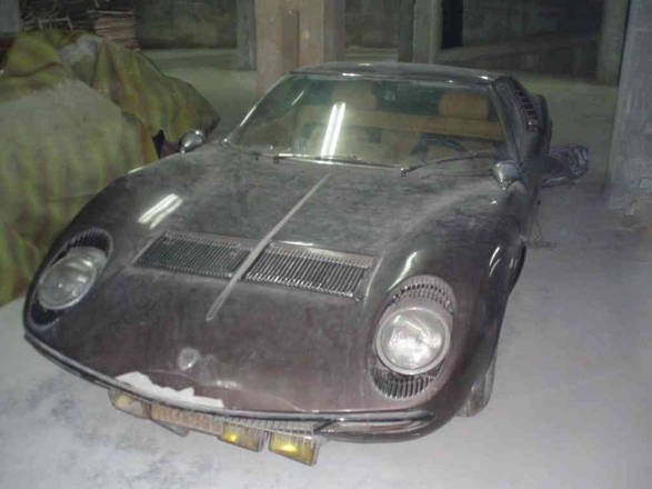 In vendita Lamborghini Miura S ex Aristotile Onassis