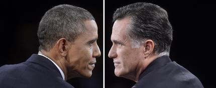 Barack Obama e Mitt Romney