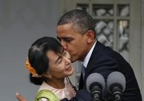 US President Barack Obama visits Myanmar