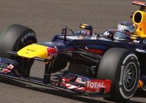 Sebastian Vettel durante la prima sessione delle libere