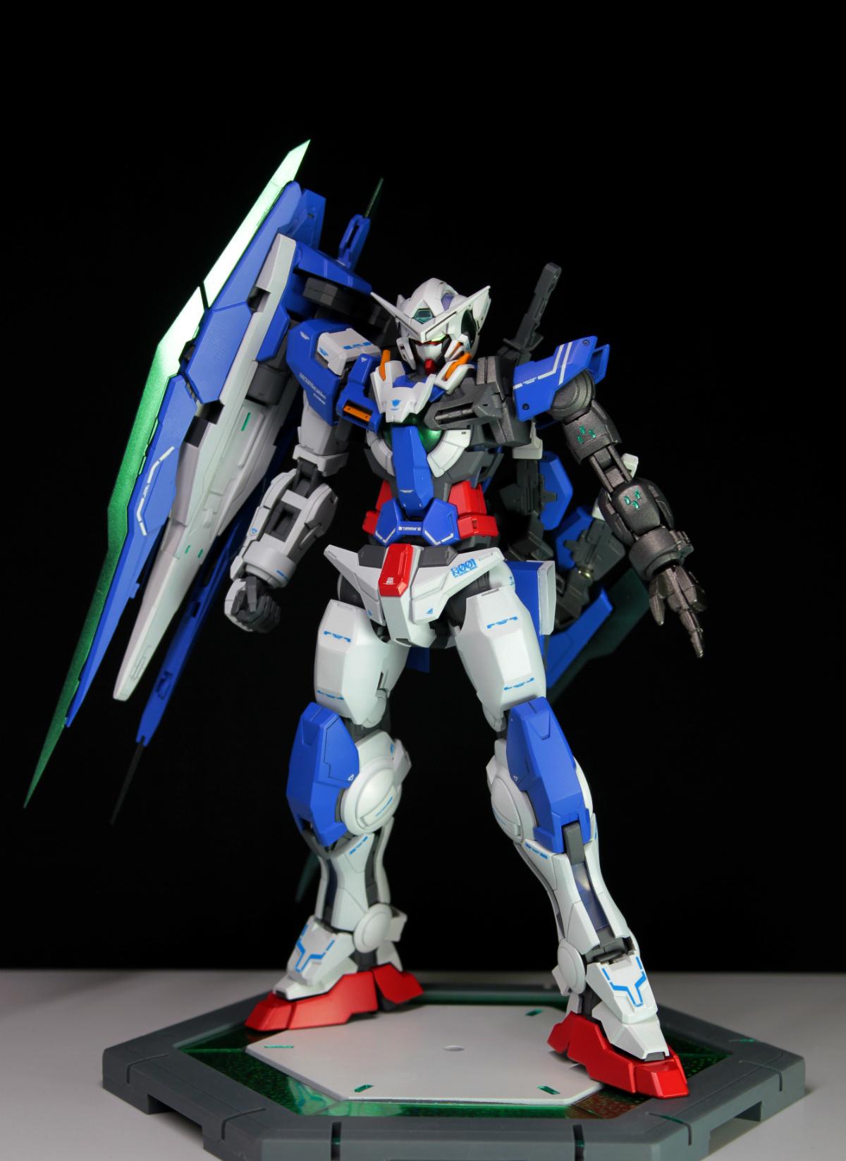 MG GN-001 能天使R4 格拉漢姆高達 by gunintuition - 高達|科幻模型 - 小T