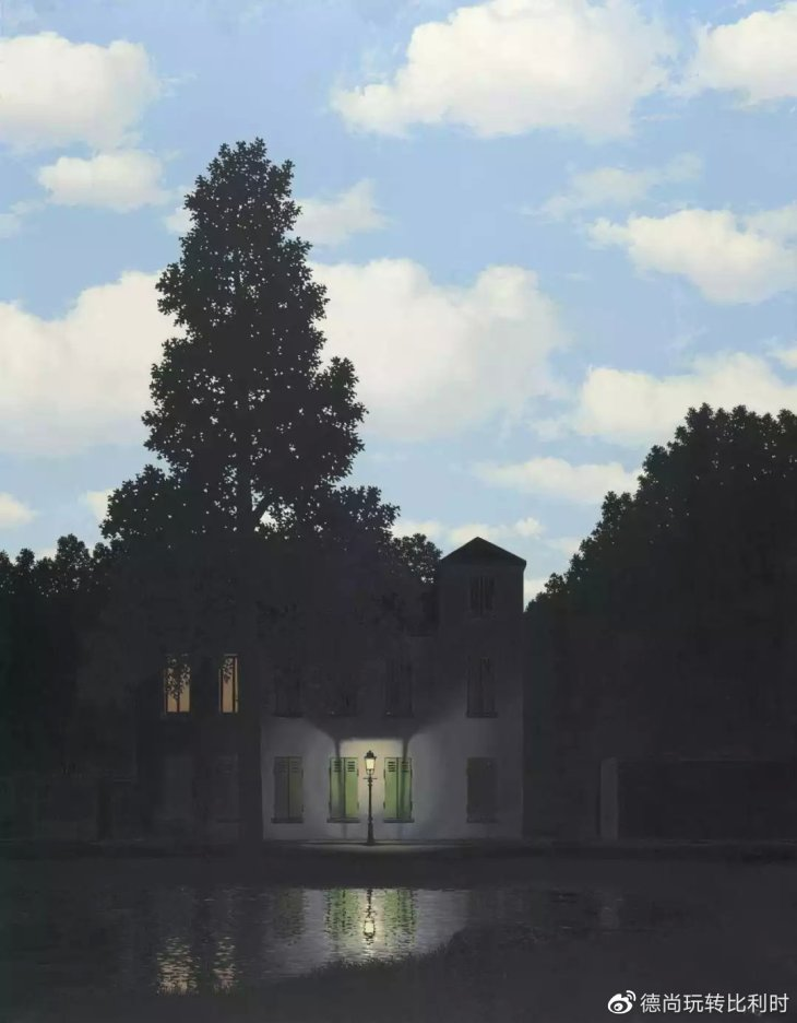 René Magritte, The Dominion of Light, 1954, inv. 6715 - © courtesy of Ch. Hersco