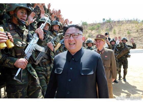 """acc2a602gy1fekxx7qm7qj20fk0b4q4p Ким Чен Ын и """"кукурузники"""". В Северной Корее прошли соревнования среди подразделений спецназа."""