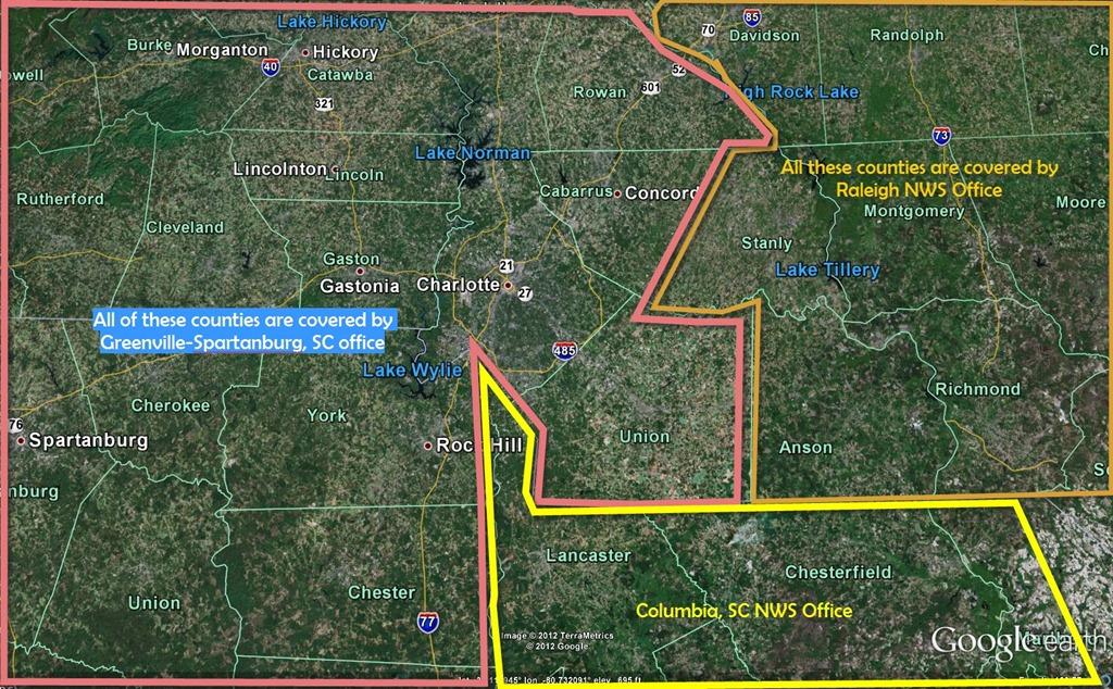 Mecklenburg Cabarrus County Tornado Wxbrad Blog - Weather radar for charlotte nc