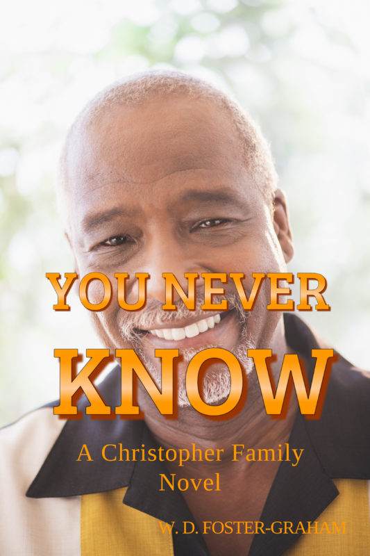W D Newest Book Cover You Never Know Book