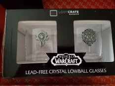 Warcraft Lowball Glasses